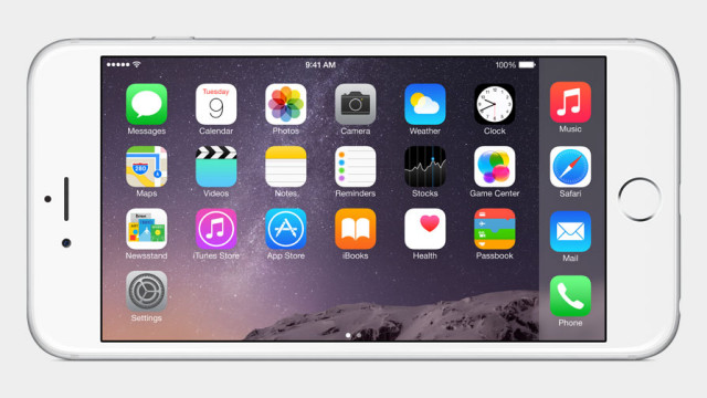 SBFlip rotar pantalla iOS 8 iPhone 6