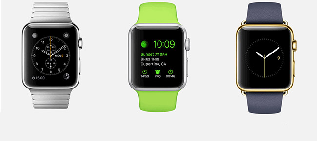 Desveladas todas las características del Apple Watch