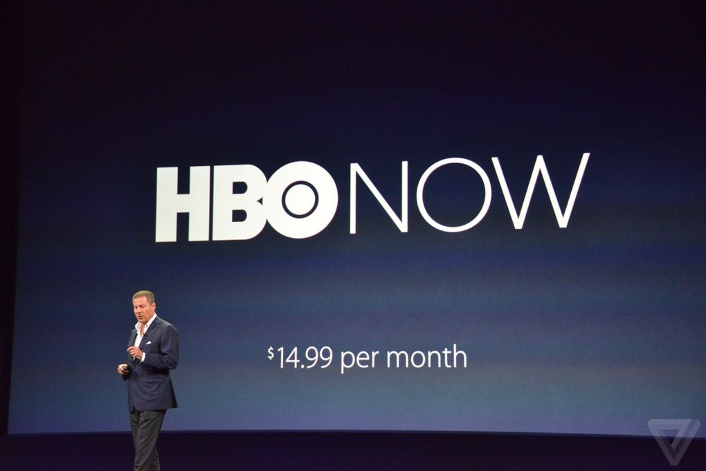 Apple Keynote 9 Marzo - HBO