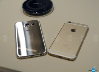 samsung galaxy s6 y iphone 6
