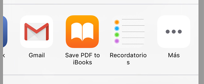 guardar pdf en ibooks