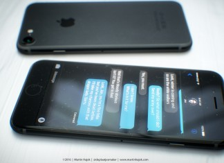 iPhone 7 negro, sin boton home