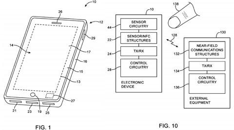 Apple patenta un sensor de huellas dactilares dentro de un