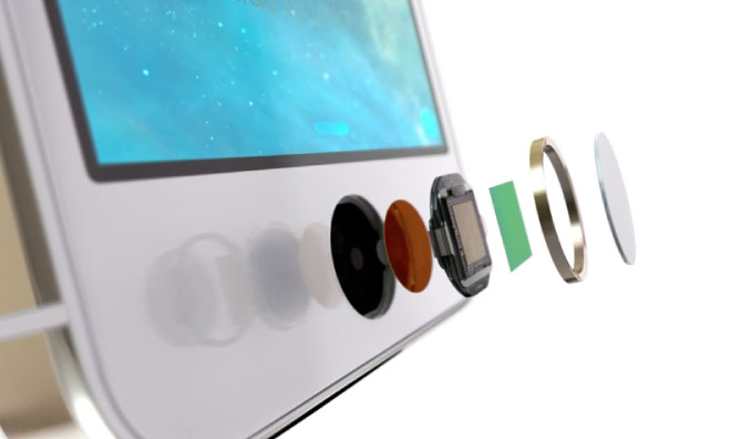 touch id en iPhone