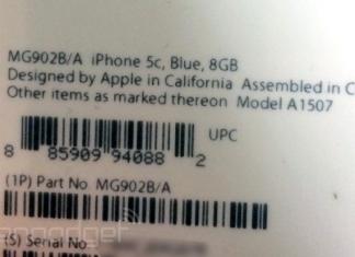 iphone 5c 8gb etiqueta