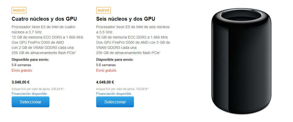 Mac Pro nuevas fechas