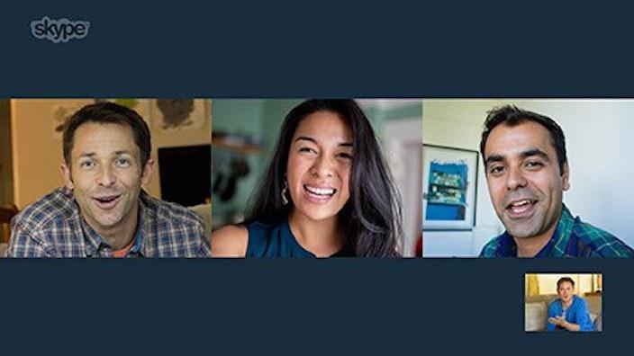 Skype para Mac videollamadas grupales gratis