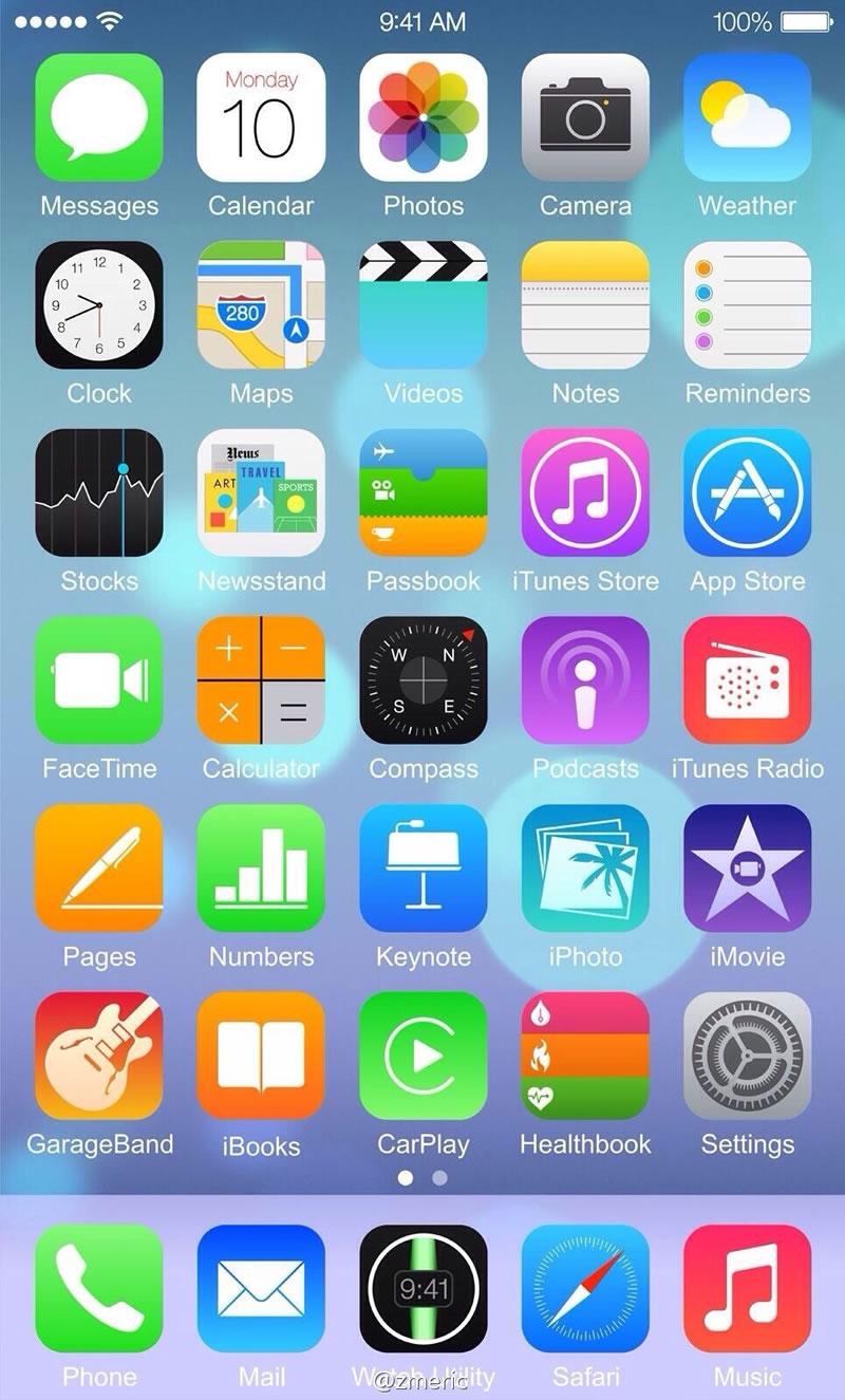 iOS 8 captura falsa