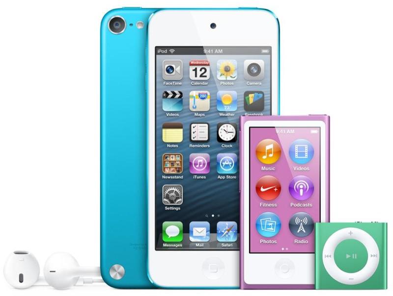 Familia del iPod