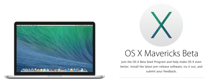 mavericks beta OS X