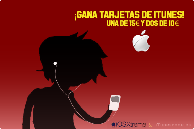 Sorteo itunes de abril