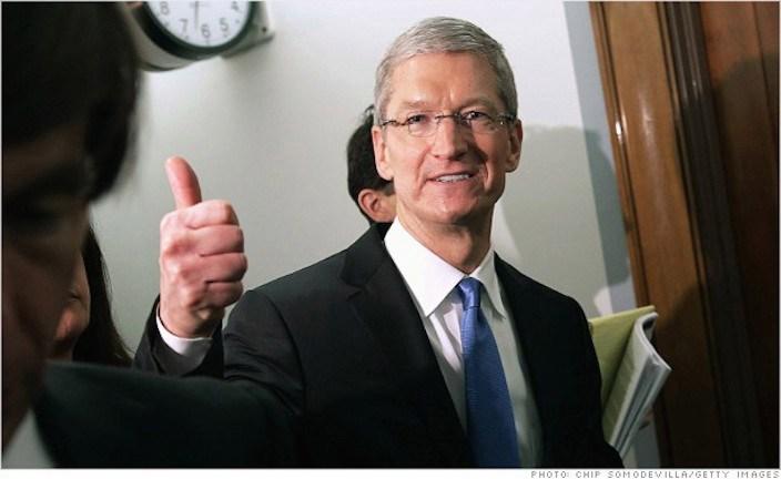 Tim cook donación Apple