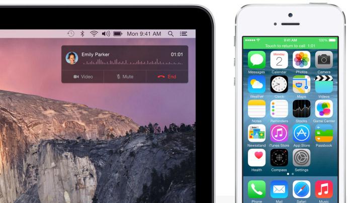 iOS 8 y Yosemite