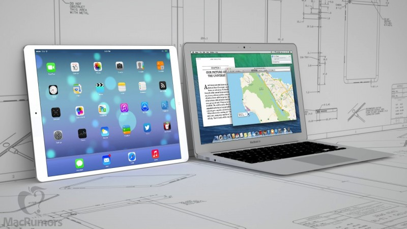 iPad Pro & macbook air