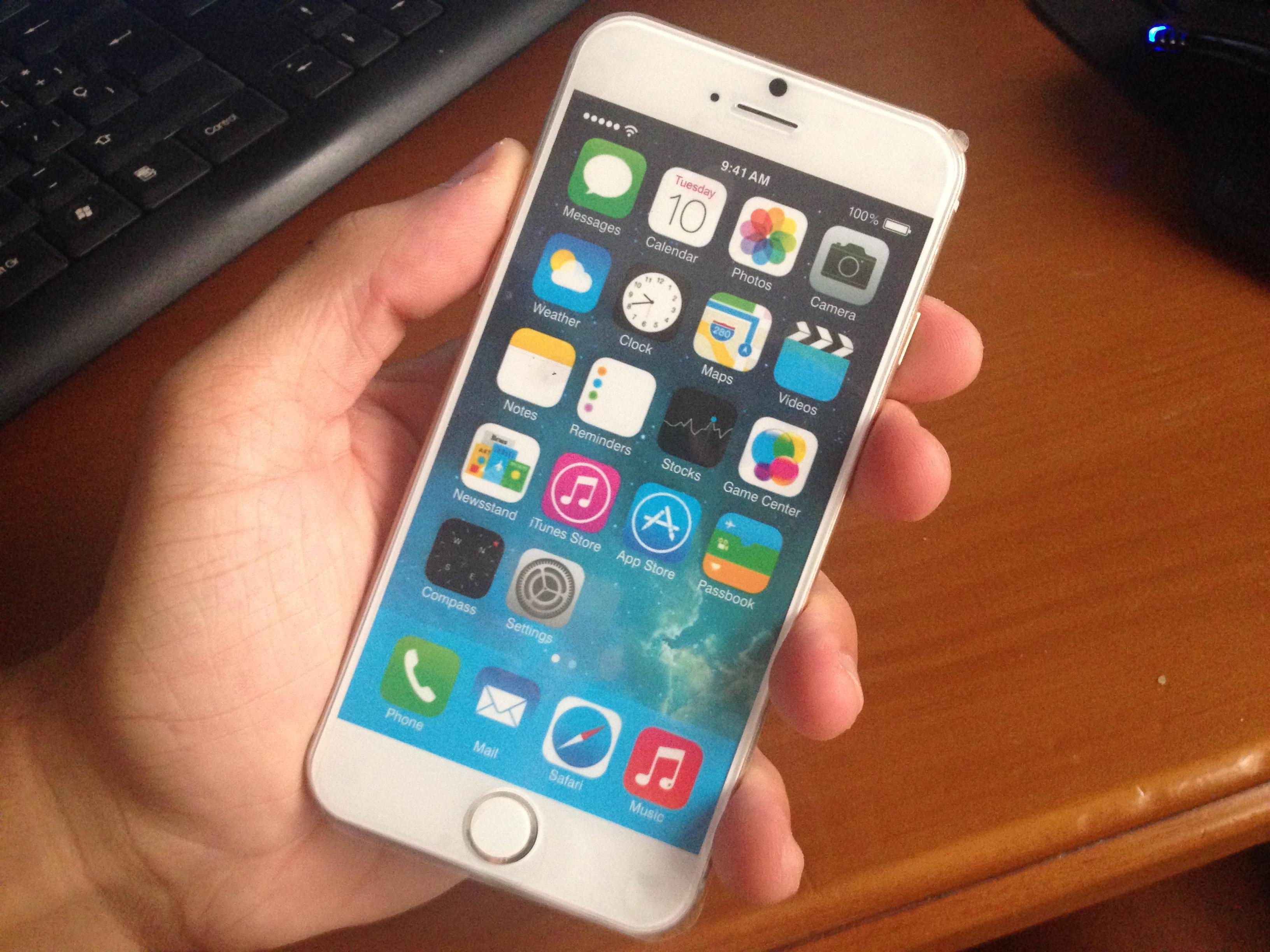 iPhone 6 en iOSXtreme