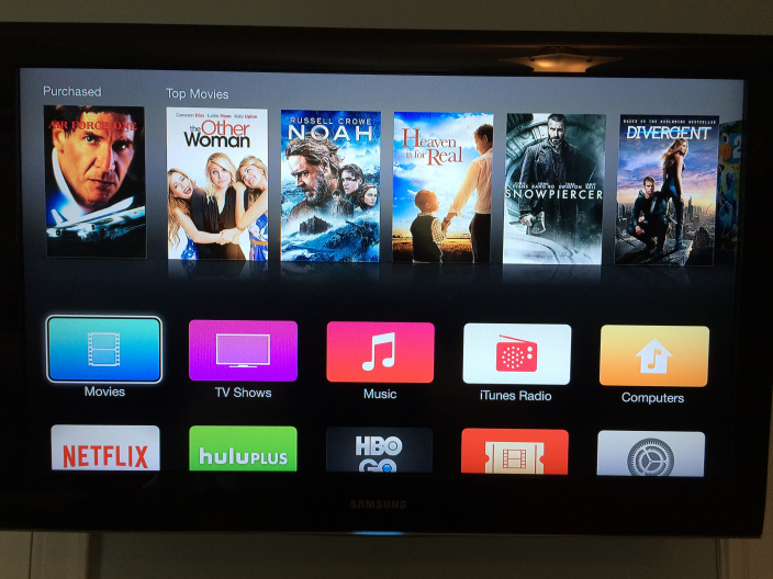 Apple TV en iOS 8
