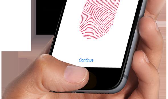 iPhone 6 sin zafiro en la pantalla - Touch ID