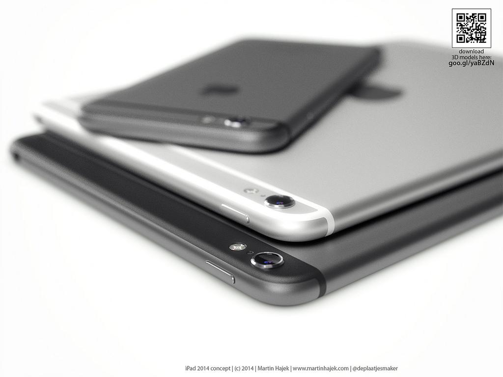 iPad renders Hajek iOSXtreme