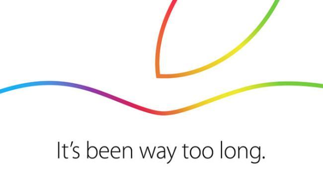 Invitación evento Apple octubre último del año