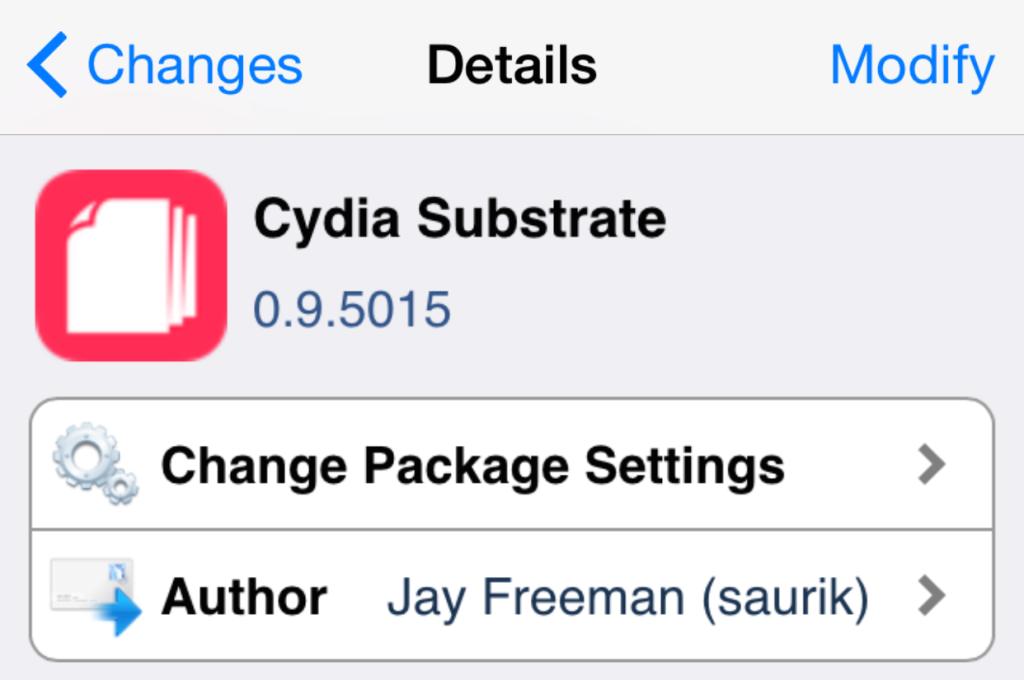 Cydia substrate actualizado