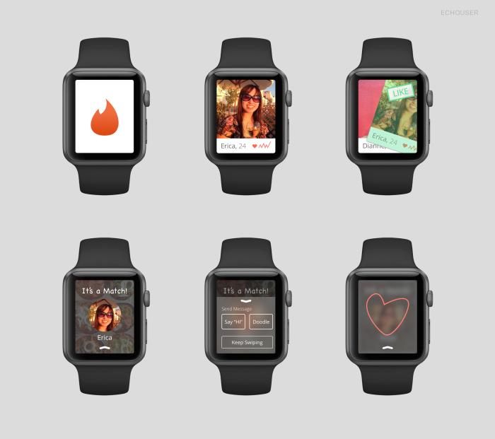 Concepto de Aplicaciones para el Apple Watch