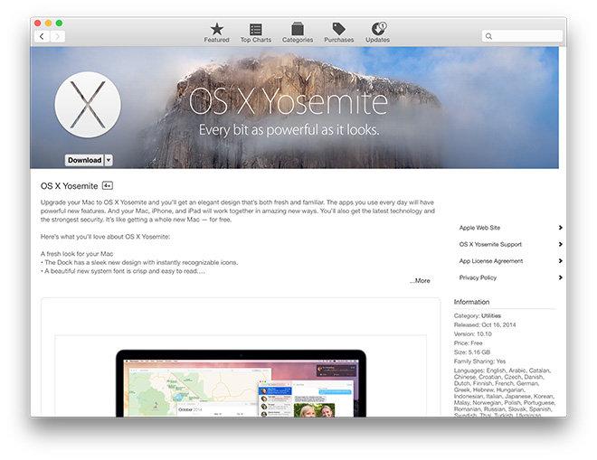 Nueva Mac App Store de Apple