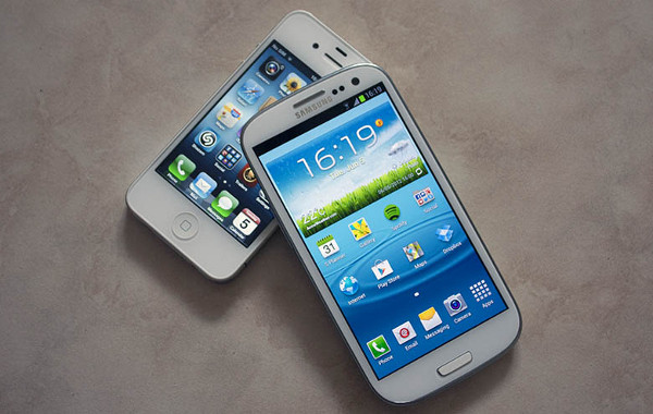 Android frente iPhone 4
