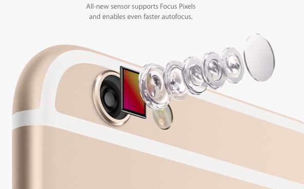 iphone camara nueva
