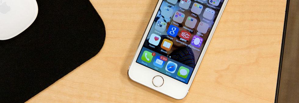 iOS 8 slider