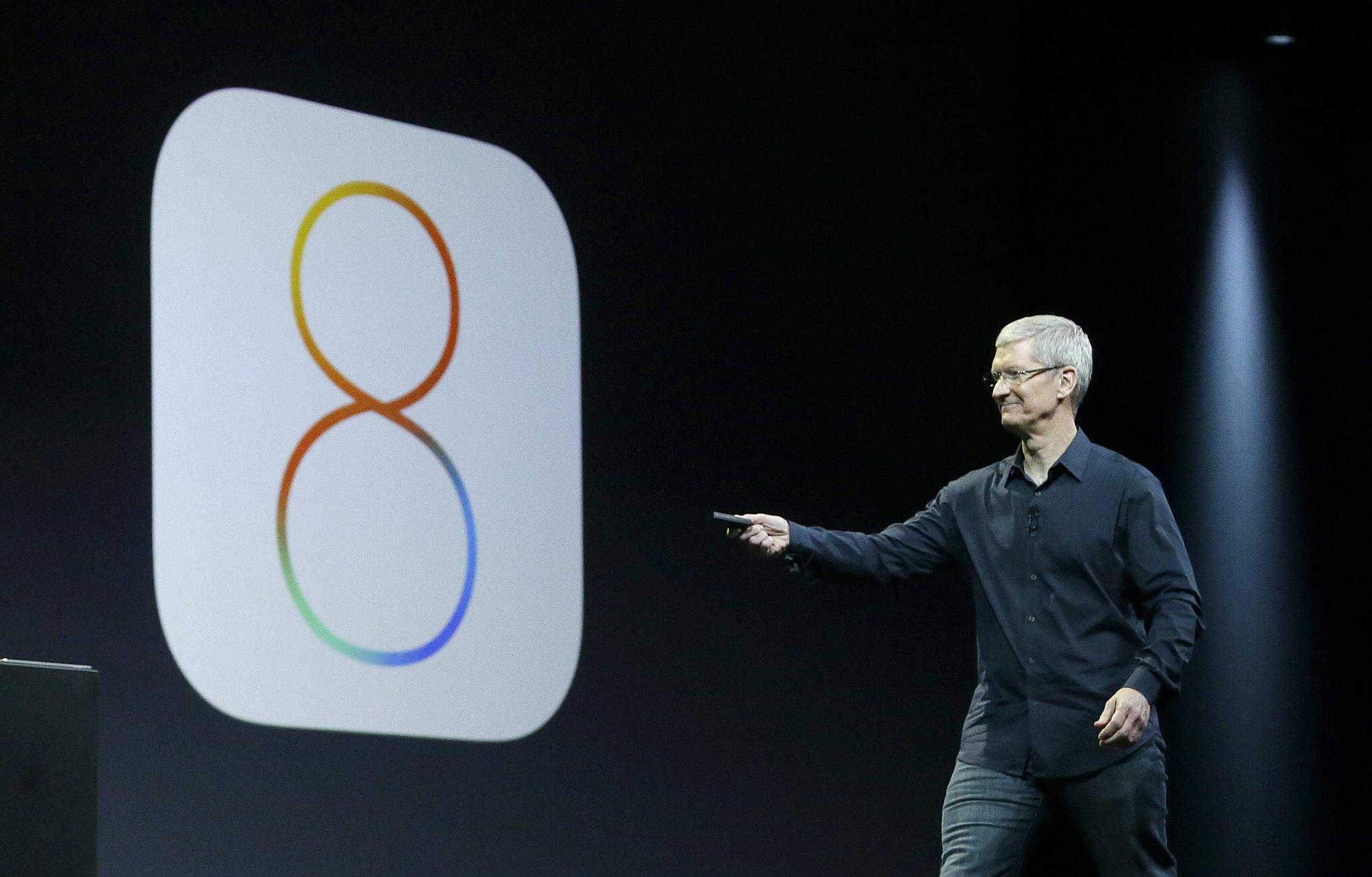 iOS 8 Presentación con Tim Cook