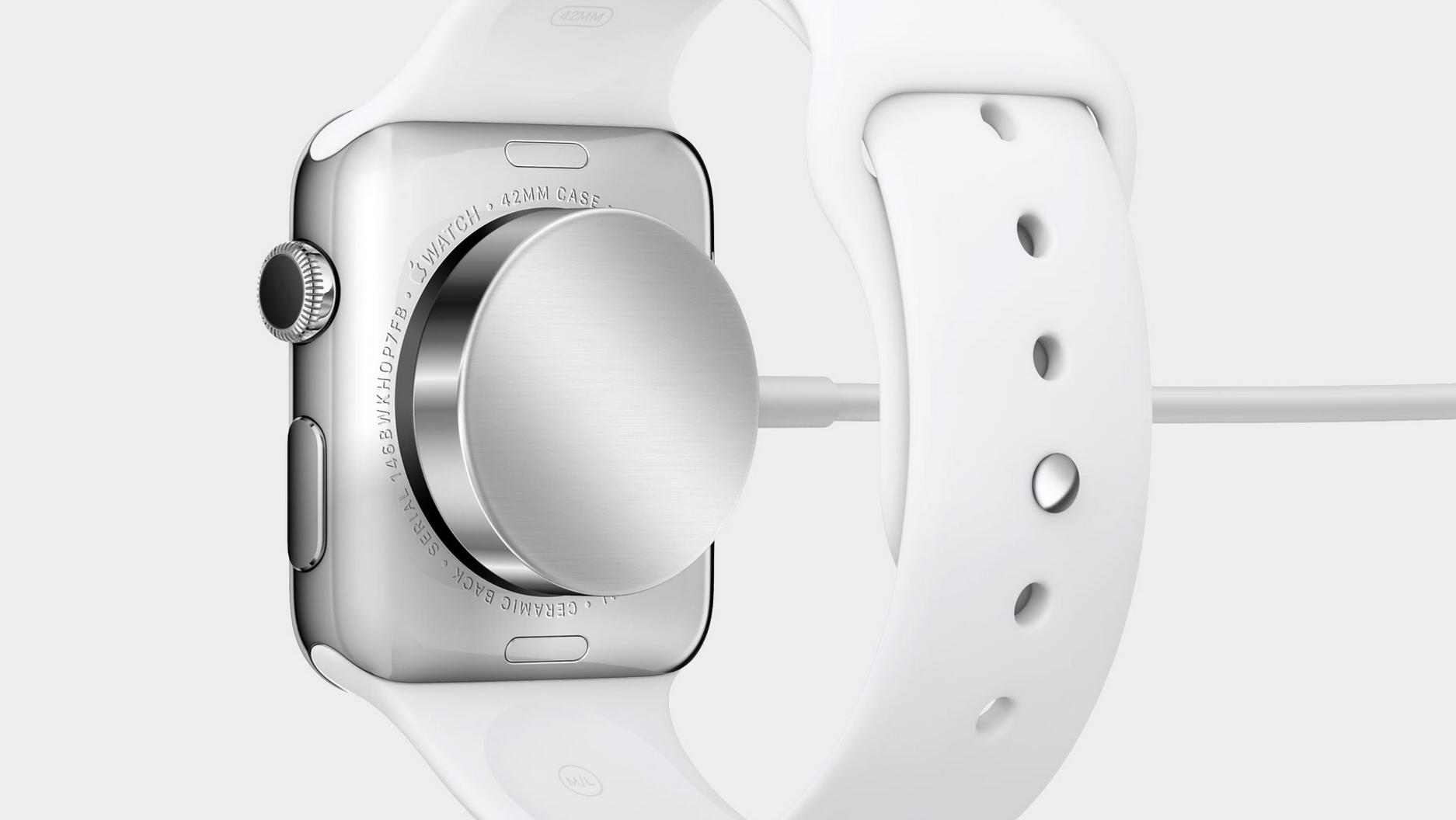 Apple watch carga batería