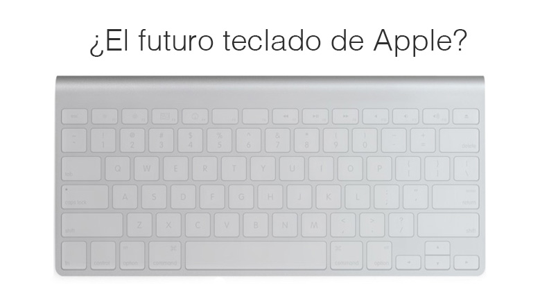 futuro teclado de apple