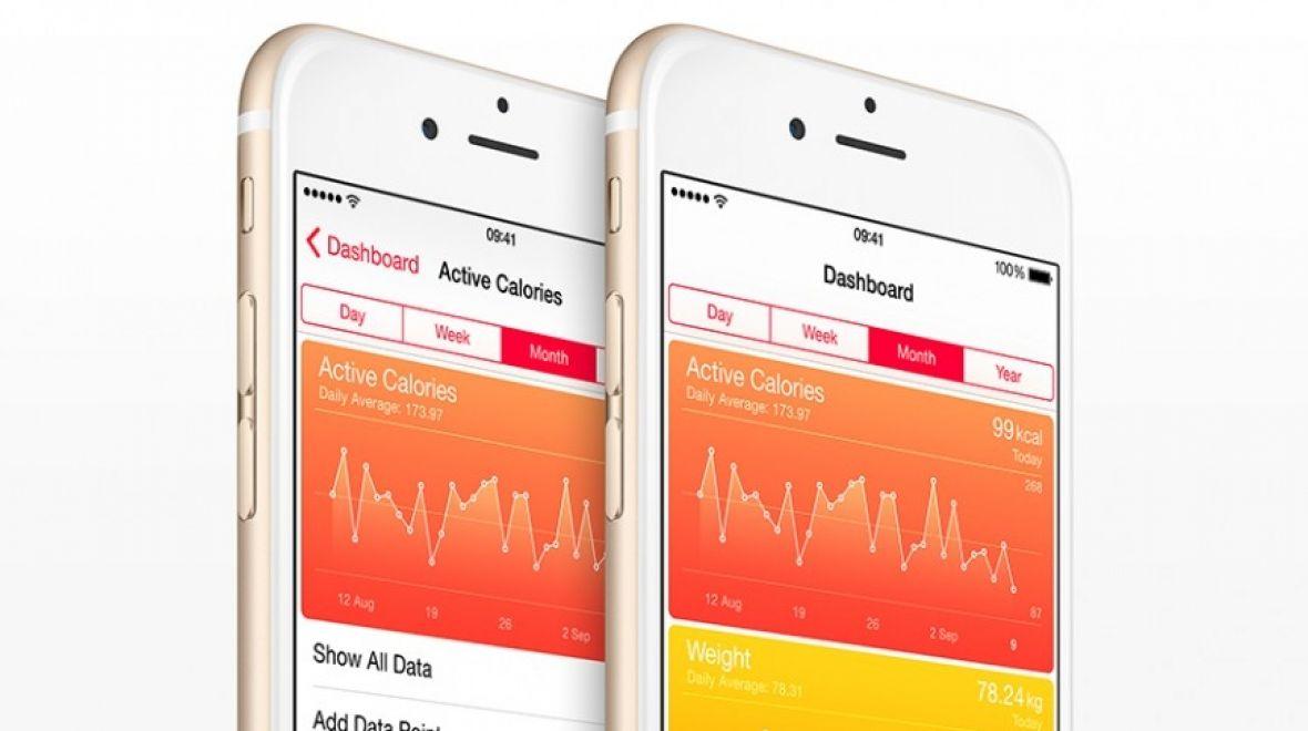 Salud app iOS 8 ahorrar bateria ejercicio