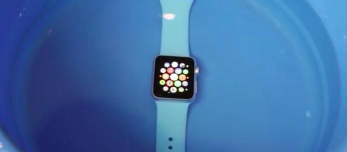 Apple Watch test de agua