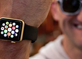 Apple watch sport de oro