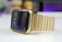 Apple watch bañado en oro