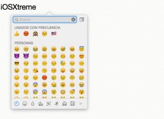 emojis rápidamente en Mac OS X