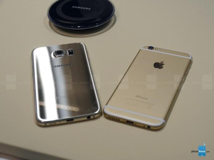 samsung galaxy s6 y iphone 6
