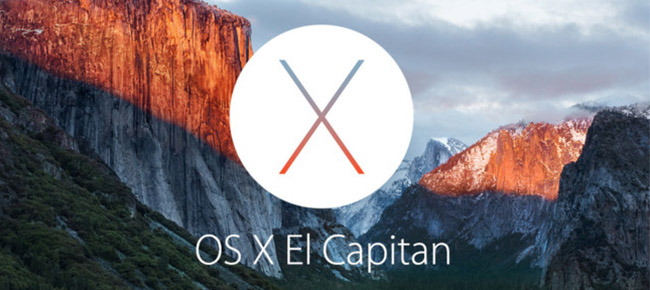 OS X el capitan slider 2