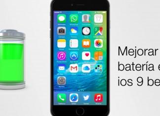 mejora bateria en ios 9 beta