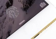 touch id integrado en la pantalla
