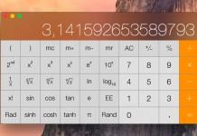 Cómo acceder a la calculadora científica en OS X