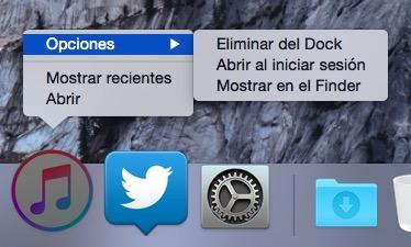 Cómo localizar en el Finder aplicaciones del dock en OS X