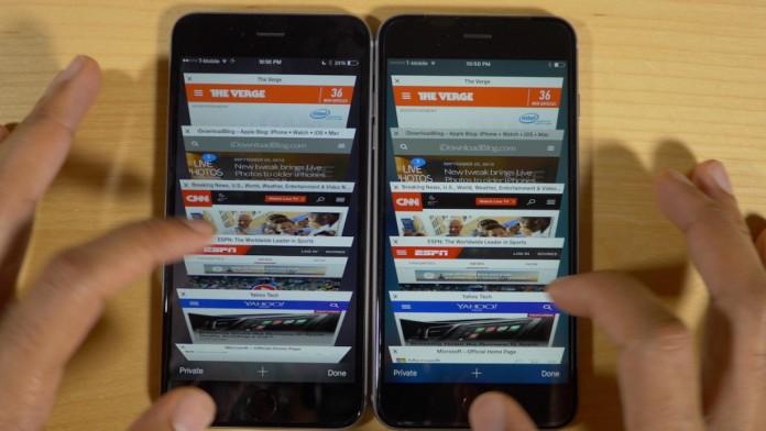 iphone 6s vs iPhone 6 memoria RAM