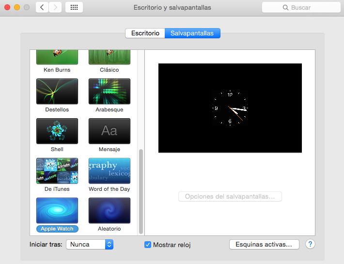 Apple Watch - OS X 1