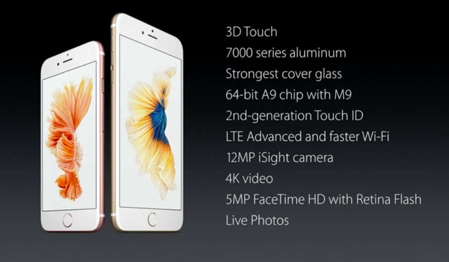 iPhone 6s novedades