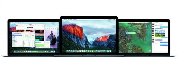 MacBook OS X el capitán
