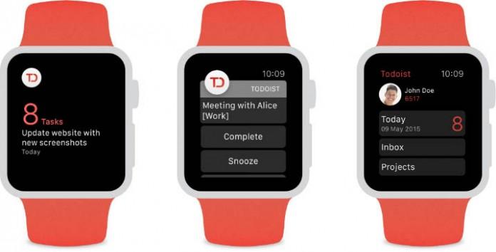 Todoist Apple Watch