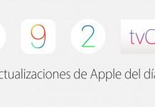 Actualizaciones iOS, OS X y tvOS