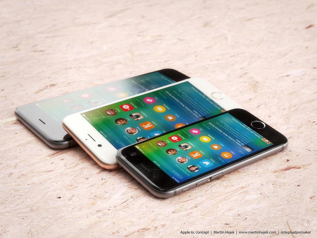 iPhone 6c concepto 3